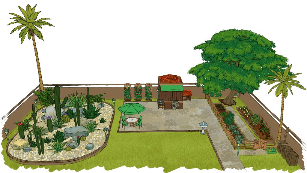 Garden Plan - Fantastic Gardeners Melbourne
